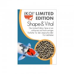 ProKoi Shape & Vital Limited Edition Koifutter 5 Liter das ideale Leistungs Koifutter 6mm
