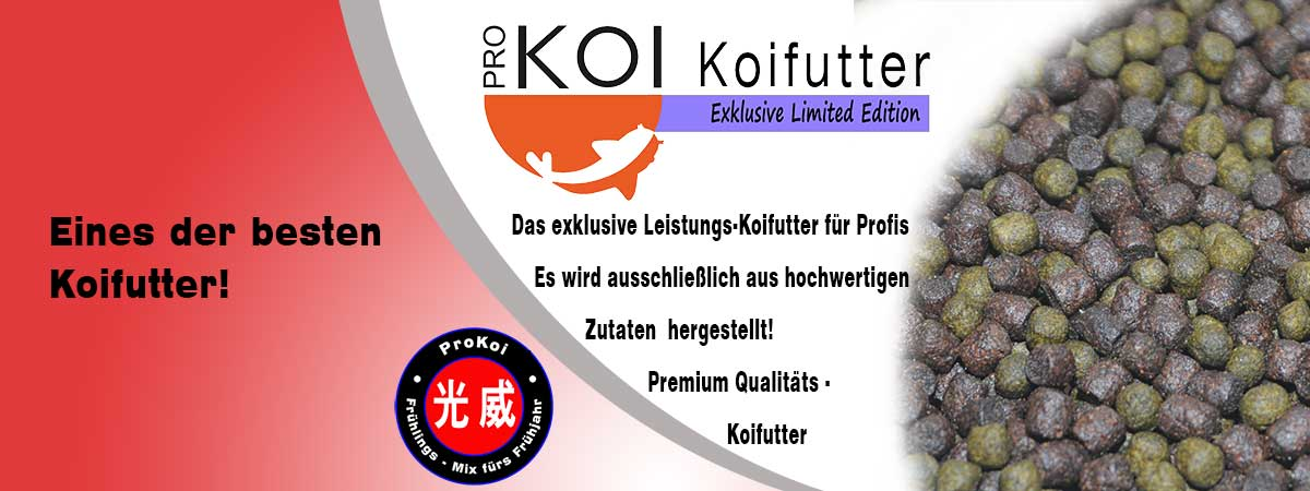 ProKoi Limited Edition Koifutter Line